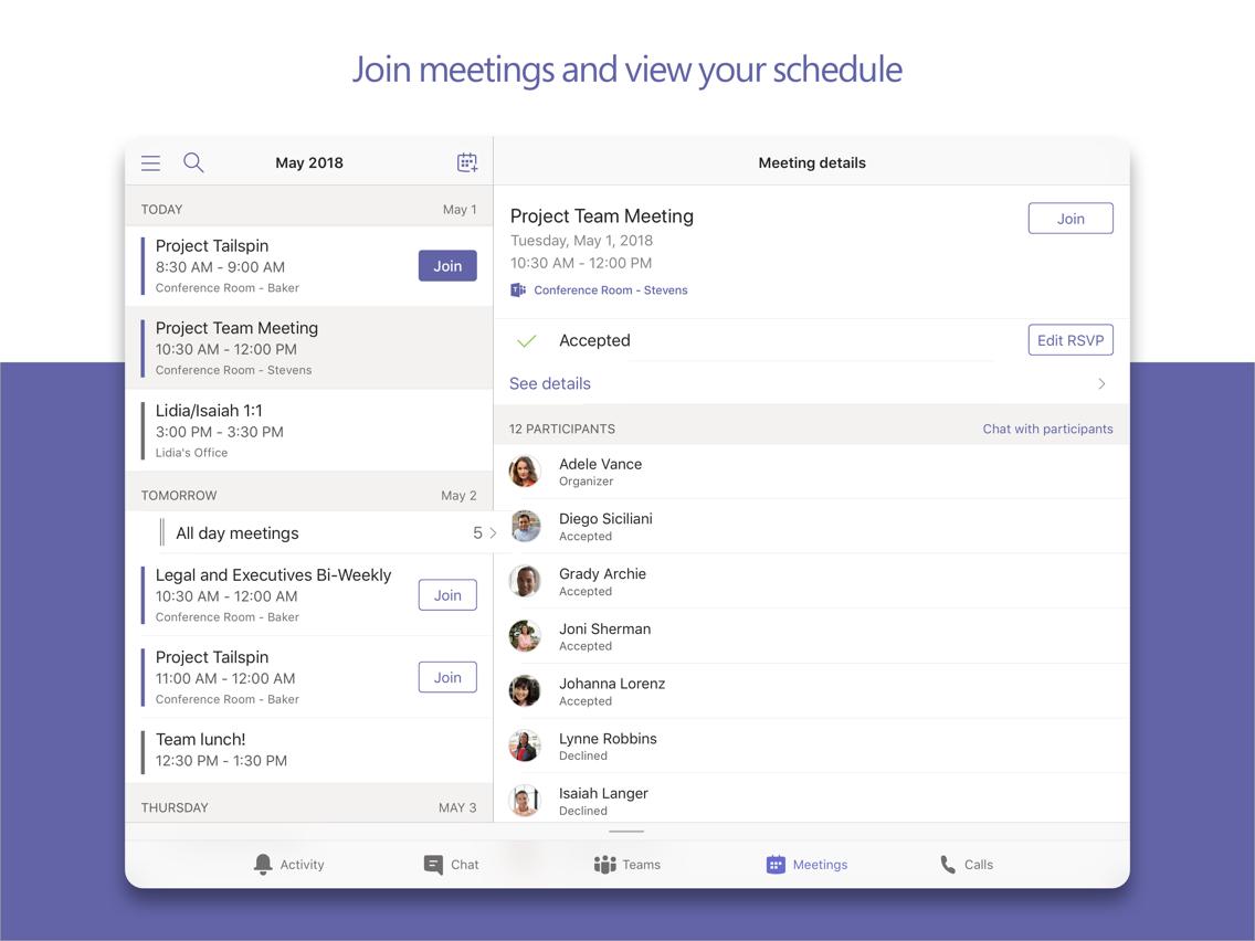 Microsoft Teams App for iPhone - Free Download Microsoft