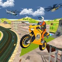 Sports Bike Rider: Tricky Stun