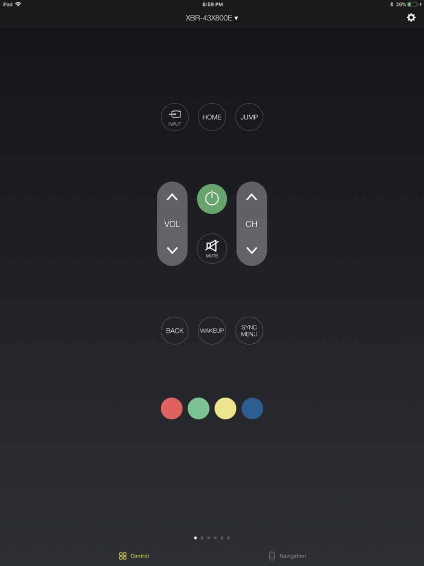 Smart Remote for Sony Smart TV App for iPhone - Free