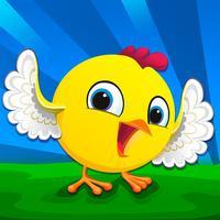 Boy Chicken Bird Boxer - Tap to Fly