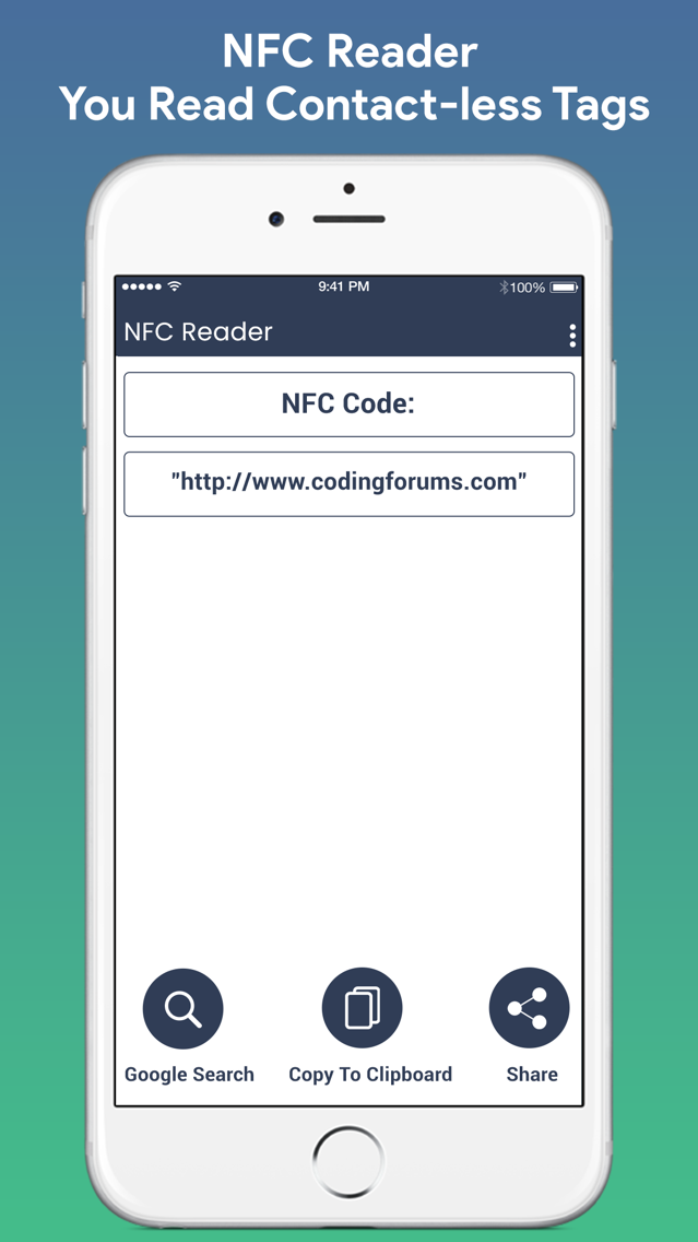 QR Barcode NFC Scanner App for iPhone - Free Download QR