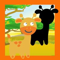 Animal-s from a Safari Trip in One Kid-s Puzzle Game For Play-ing, Teach-ing and Learn-ing