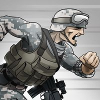 Battle Soldier Frontline Rivals: Big League Arms Battle Pro