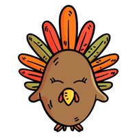 Thanksgiving Stickers & Emoji
