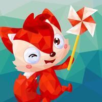 儿童游戏 - 狐涂涂折纸王国