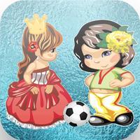princess vs amela superstars ice soccer games
