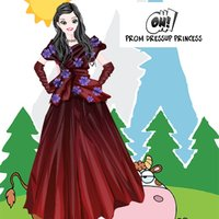 Prom dress up princess games for girls