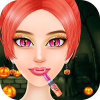 Halloween Spooky Monster - Dressup Makeup salon