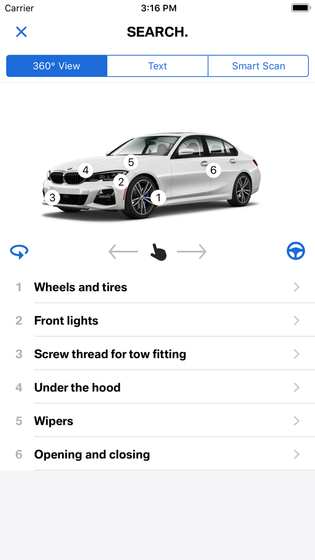 bmw drivers guide app not working