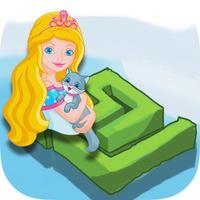 Rapunzel Mazes games - Princesses & farm animals