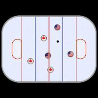 Finger Ice Hockey Game