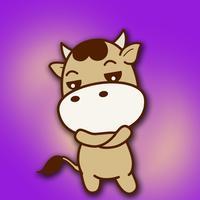 CowMoji Cutest Cow Stickers