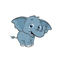 Elephants Stickers