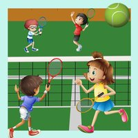 Learn Tennis With Fun and Joy: Many Educational Kids Games