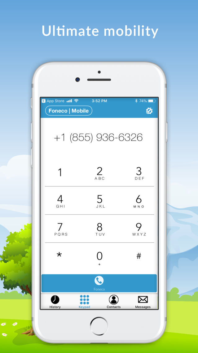 Foneco Softphone App for iPhone - Free Download Foneco