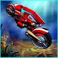 Flying Submarine Motorcycle