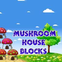 Mushroom House Blocks - Bloxx Stacking Tower Building FREE Game