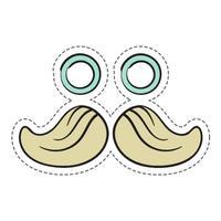 Mustache Stickers Pro