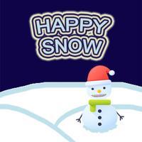 Happy Snow