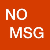 No MSG - Avoid MSG when eating out