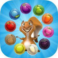 Squirrel Pop Bubble Shooter Fruit Saga : Match 3 Hd Free Game