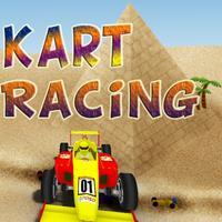 Kart Racing 3D Heated Car Race Game