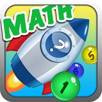 Number Bubble Rocket -Math Training Games