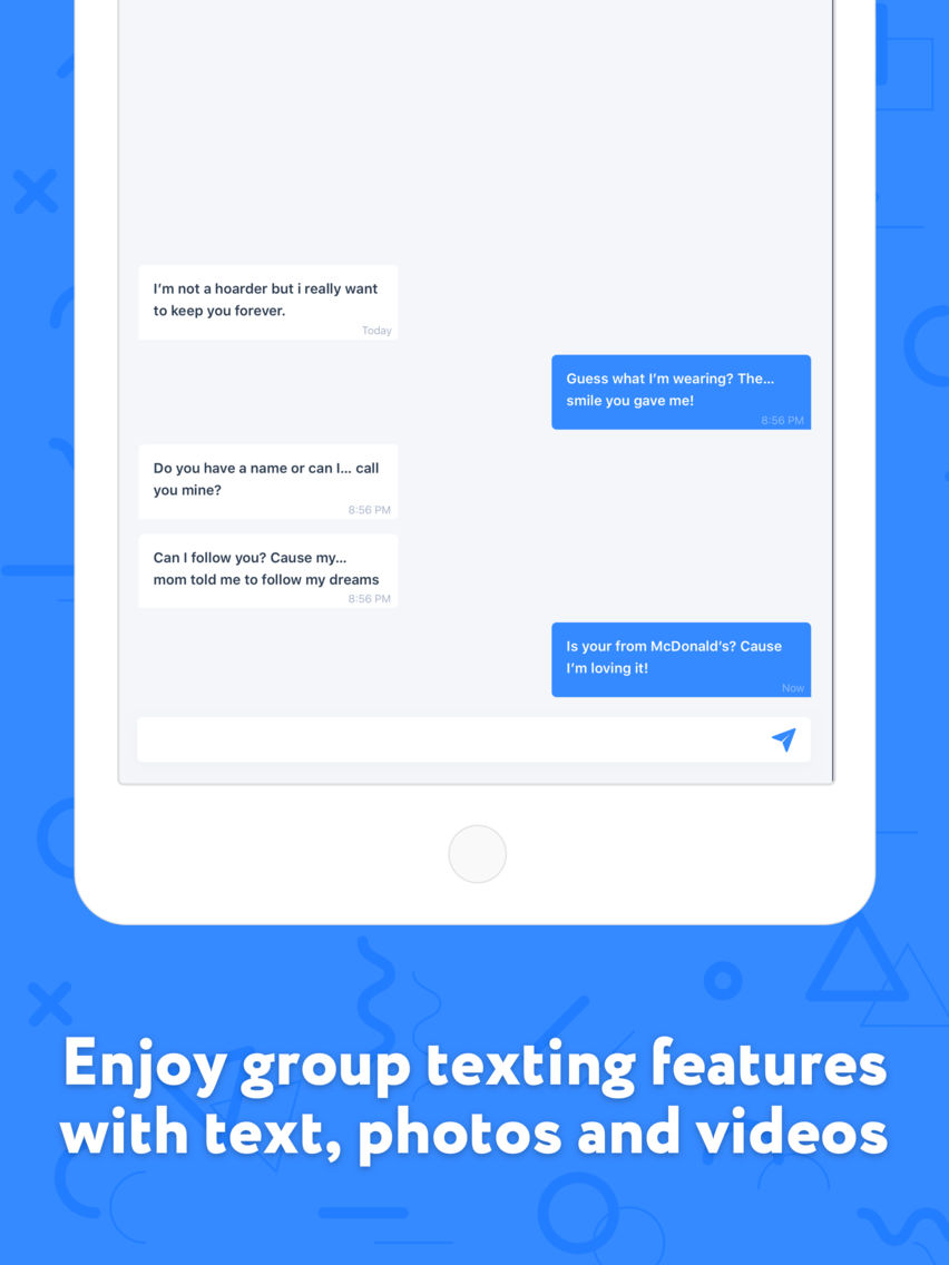 Fake Text Message and Number App for iPhone - Free Download Fake