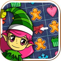 Elf's christmas candies smash – Educational game for kids from 5 years old