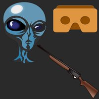 VR FPS in Space for Google CardBoard