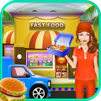 City Girl Burger Delivery & Maker - Fast Food Fever Cooking Games for Girls & Kids