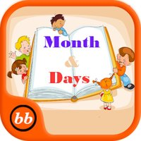 Education - Days and Months Learning for Kids Using Flashcards and Sounds