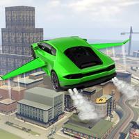 Driving Futuristic Flying Car - Best Flight Pilot