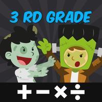 Halloween Math Game 3rd Grade