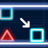 失重的霓虹方块-紧张刺激的动作小游戏