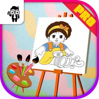 Doll Coloring Book Pro
