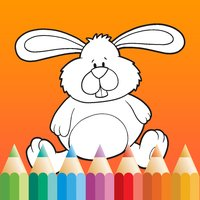 Easter Coloring Book for Children: Learn to color
