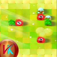Red Monsters Match Kids Game
