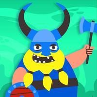 Viking Warlord Madness - FREE - war on bubbles adventure
