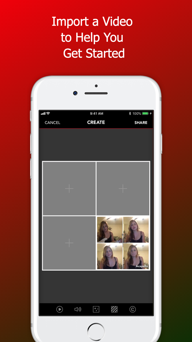 Acapella from PicPlayPost App for iPhone - Free Download Acapella