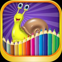 Animals Cartoon Coloring Page  Learning for kids