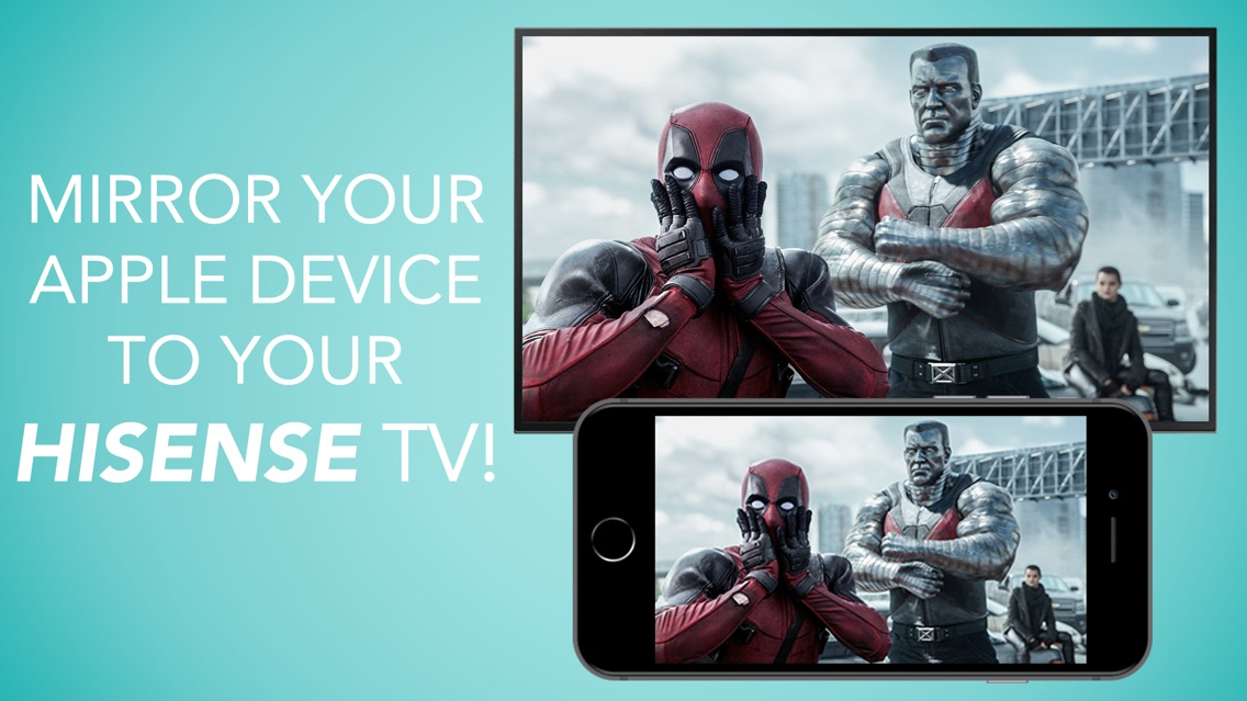 Mirror for Hisense TV App for iPhone - Free Download Mirror