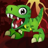 Bouncy Dino Hop - The Best of Dinosaur Games with Only One Life