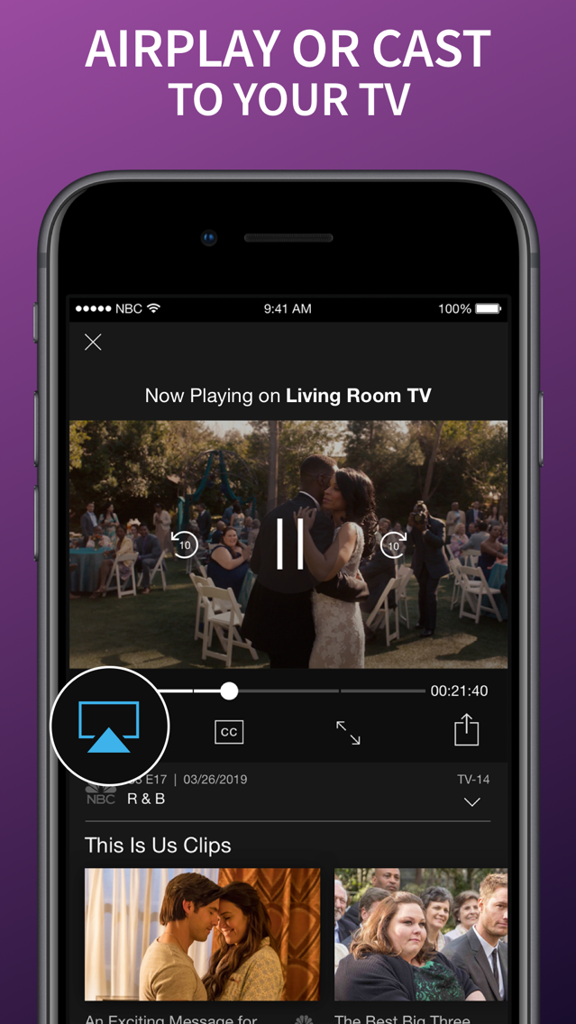 The NBC App – Stream TV Shows App for iPhone - Free Download The NBC
