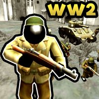 Stickman WW2 Battle Simulator