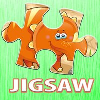 Dinosaur Puzzle for Kids Cartoon Dino Jigsaw Games