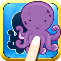 Aquatic Animals - An educational Ocean puzzle for toddlers and kids