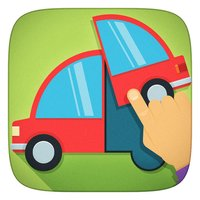 Kids Cars, Vehicles and Trucks Puzzle Free Game for Toddlers and Baby Boys to look, listen and learn