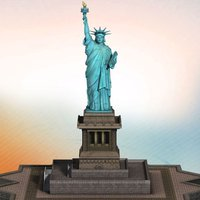 Virtual Reality(VR) Statue of Liberty