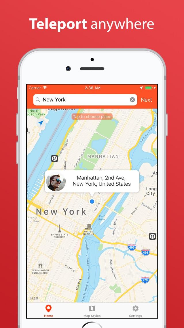 VPNa - Fake GPS Location App for iPhone - Free Download VPNa - Fake